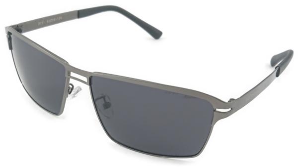 På billedet ser du variationen Neem, herre solbriller med etui fra brandet Veithdia i en størrelse H: 4,2 cm. B: 6 cm. i farven Grå